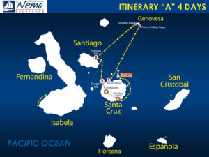 itinerary-A-4-days-nemo-iii-galapagos-cruise